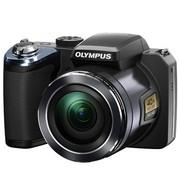 奥林巴斯 SP-820UZ 数码相机 黑色(1400万像素 3.0英寸屏 40倍光学变焦 22.4mm广角 内置8G卡)