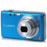 松下 DMC-FH6GK 数码相机 蓝色(1410万像素 2.7英寸液晶屏 5倍光学变焦 24mm广角)