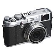 富士 FinePix X100S 旁轴数码相机 银色(1600万像素 2.8英寸屏 23mmF2定焦镜头 混合取景器)