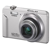 卡西欧 EX-ZS160 数码相机 银色(1610万像素 2.7英寸液晶屏 12.5倍光学变焦 24mm广角)