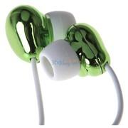 麦克赛尔 HP-CN12-GR 蚕豆耳机 逗豆系列 绿色