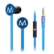 玛雅 E17 手机耳机 入耳式 线控 带话筒 蓝色