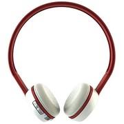 魔杰 E280 iPhone/ipad/苹果 手机 平板 通用无线蓝牙耳机 头戴式立体声蓝牙高保真降噪 红白色