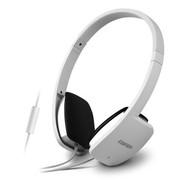 漫步者 H640P 时尚白 兼容性极强的手机耳机