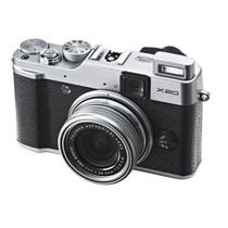 富士 FinePix X20 旁轴数码相机 银色产品图片主图