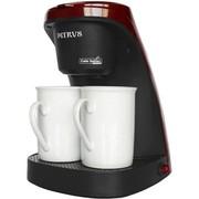 柏翠 家用滴漏式咖啡机 可泡茶PE3100 (红色)
