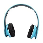 冲击波 SHB-906BH 包耳头戴式蓝牙耳机 HiFi立体声 可折叠+内置麦克风 亮宝蓝