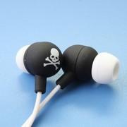 其他 星星耳机(MIX-STYLE)入耳式耳机 黑底骷髅(5款颜色可选) 白骷髅