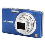 松下 DMC-SZ1GK 数码相机 蓝色(1610万像素 3.0英寸液晶屏 10倍光学变焦 25mm广角)