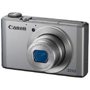 佳能 PowerShot S110 数码相机 银色(1210万像素 3.0英寸触摸屏 5倍光学变焦 24mm广角)