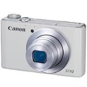 佳能 PowerShot S110 数码相机 白色(1210万像素 3.0英寸触摸屏 5倍光学变焦 24mm广角)