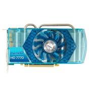 基恩希仕 7770 IceQ X (Blue) 1GB GDDR5 1000/4500MHz 1G/128bit显卡