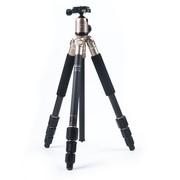 富图宝 C-4C+ +(G) 相机专业三脚架 金色 碳纤维三脚架