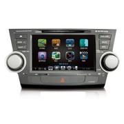 其他 卡仕达丰田汉兰达E航系列专车专用车载DVD导航CA037-BM  导航+后视