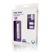 英才星 汽车车载手机充电器 万能手机车充 多种接口带USB 107(iPhone4专用)