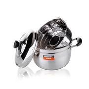 其他 海科特不锈钢双层日式复底蒸锅厨房锅具24CM