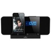魔杰 R1100 iPod/iPhone苹果 手机 专用音箱带时钟 闹钟 FM收音 便携式音箱 黑色