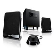 飞利浦 SPA1312 2.1声道 线控 多媒体音箱 黑色