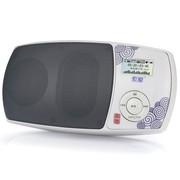 索爱 S-158(升级版) 大功率双核模式功放的迷你数码收音机 青花瓷