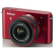 尼康 J1 微单套机 红色(VR 10-30mm f/3.5-5.6 镜头)
