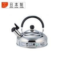 吉川 日本制造不锈钢小号水壶 日本原产原装进口18-8不锈钢水壶1升鸣笛烧水壶SH7687产品图片主图
