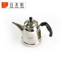 吉川 和技日本原产原装进口18-8不锈钢烧水壶泡茶壶适用煤气炉电磁炉YH7542产品图片主图