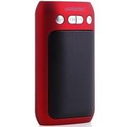 奥尼 散步机S100 便携插卡收音音箱 可乐红