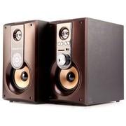 奇声 HF-208 全木质2.0多媒体音箱(咖啡色)