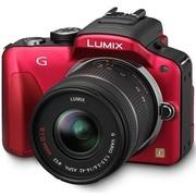 松下 G3 微单套机 红色(LUMIX G VARIO 14-42mm f/3.5-5.6 ASPH. MEGA O.I.S. 镜头)