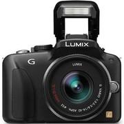 松下 G3 微单套机 黑色(LUMIX G VARIO 14-42mm f/3.5-5.6 ASPH. MEGA O.I.S. 镜头)