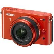 尼康 J2 微单套机 橘红色(11-27.5mm,30-110mm)