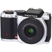 宾得 K-01 单电套机 白色(DA 40mm F2.8 XS 镜头)