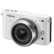 尼康 J2 微单套机 白色(11-27.5mm f/3.5-5.6 镜头)