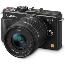 松下 GX1 微单套机 黑色(14mm,14mm-42mm)产品图片主图