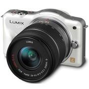 松下 GF3 微单套机 白色(LUMIX G VARIO 14-42mm f/3.5-5.6 ASPH 镜头)