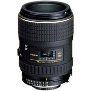 图丽 AT-X M100 PRO D 100mm F2.8 MACRO微距镜头 佳能卡口(黑色)
