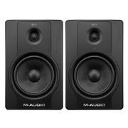 M-AUDIO BX8D2 8寸有源监听音箱(对装)风靡全球,监听音箱销量之王 黑色