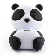 魔杰 Q30 熊猫卡通音箱完美匹配 卡通音箱 苹果 手机 平板电脑 音频连接线通用 白色