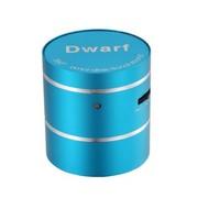 魅动e族 Dwarf-5神奇小矮人迷你插卡音响 共振音响 内置锂电池 电脑音响 蓝色