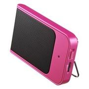 SANWA SUPPLY 山业SANWA MM-SPP5P 超薄便捷扬声器音箱 适用苹果产品 两用式 粉色