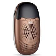 索爱 S-188 便携式数码小音箱 咖啡金