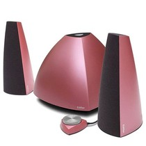 漫步者 E3350 2.1声道 多媒体音箱 红色产品图片主图