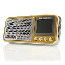 奥尼 散步机S600 便携插卡收音音箱 奢华金产品图片主图