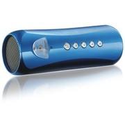 酷道 T3低音炮插卡音箱迷你音响便携电脑小自行车mp3双喇叭 蓝