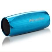 酷道 S1(4G)迷你音响低音炮插卡便携音箱收音机自行车山地运动MP3 蓝色