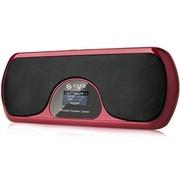 不见不散 LV900-II二代 便携插卡音箱老人晨练 瑜伽音箱 玫瑰红