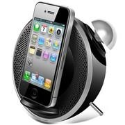 漫步者 M0 MKⅡ 2.0声道 多功能 迷你苹果底座音箱 黑色