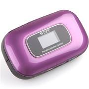 不见不散 LV510 便携插卡音箱 迷你小音响MP3播放器 带收音机随身听 宝马紫