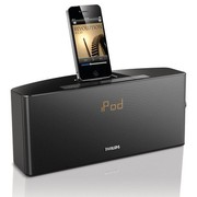飞利浦 AJ7034D/93 iPod/iPhone专用音乐充电基座家用音响 时钟收音机