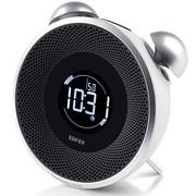 漫步者 M0 pro 2.0声道 便携插卡智能时钟音箱 白色